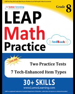LEAP Practice tedBook® - Grade 8 Math, Teacher Copy
