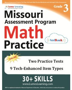 MOMAP Practice tedBook® - Grade 3 Math, Teacher Copy