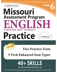 MAP Practice tedBook® - Grade 6 ELA, Teacher Copy