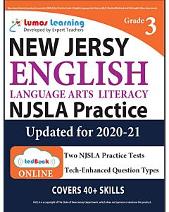 NJSLA Practice tedBook® - Grade 3 ELA, Teacher Copy