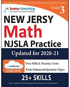 NJSLA Practice tedBook® - Grade 3 Math, Teacher Copy