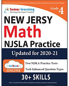 NJSLA Practice tedBook® - Grade 4 Math, Teacher Copy