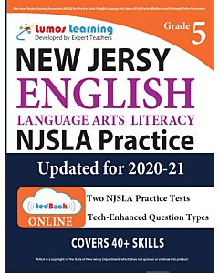 NJSLA Practice tedBook® - Grade 5 ELA, Teacher Copy