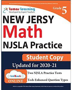 NJSLA Practice tedBook® - Grade 5 Math, Student Copy