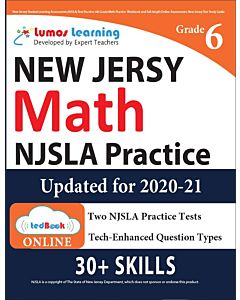 NJSLA Practice tedBook® - Grade 6 Math, Teacher Copy