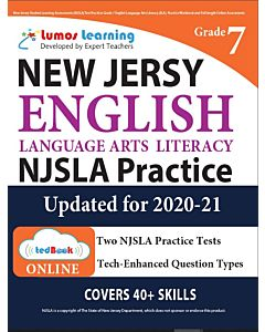 NJSLA Practice tedBook® - Grade 7 ELA, Teacher Copy