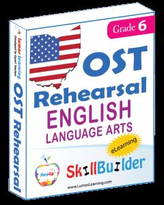 Lumos StepUp SkillBuilder + Test Prep for OST: Online Practice Assessments and Workbooks - Grade 6 ELA