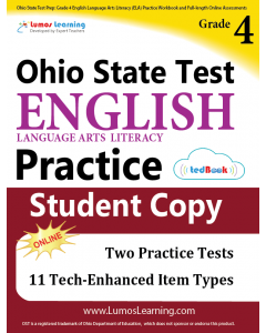 OST Practice tedBook® - Grade 4 ELA, Student Copy