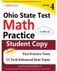 OST Practice tedBook® - Grade 4 Math, Student Copy