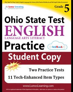 OST Practice tedBook® - Grade 5 ELA, Student Copy