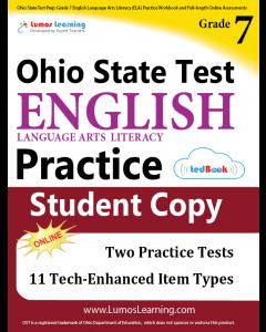 OST Practice tedBook® - Grade 7 ELA, Student Copy