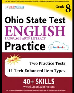 OST Practice tedBook® - Grade 8 ELA, Teacher Copy