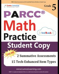 PARCC Practice tedBook® - Grade 5 Math, Student Copy