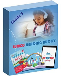 Lumos Reading Buddy - Oral Reading Fluency Program, Grade 3
