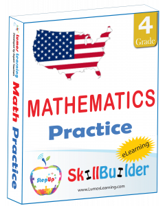 StepUp Skill Builder - Grade 4 Math