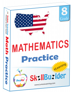 StepUp Skill Builder - Grade 8 Math
