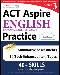 ACT Aspire Practice tedBook® - Grade 3 ELA, Teacher Copy