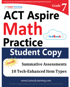 ACT Aspire Practice tedBook® - Grade 7 Math, Student Copy